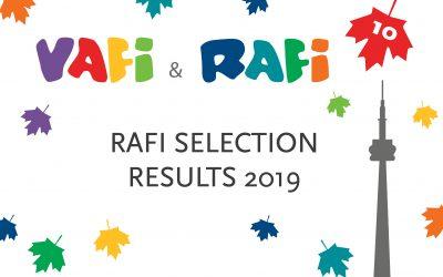 RAFI sekcija – selekcijski rezultati 2019.