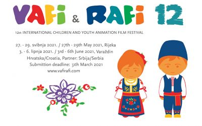 The last day to submit films on the 12th VAFI & RAFI Festival